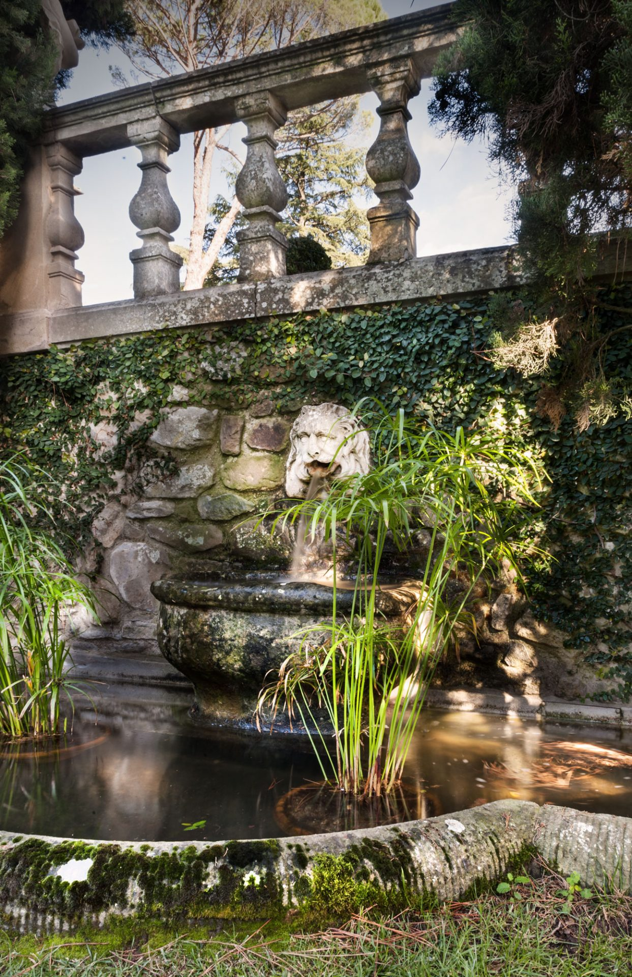 Una delle fontane storiche