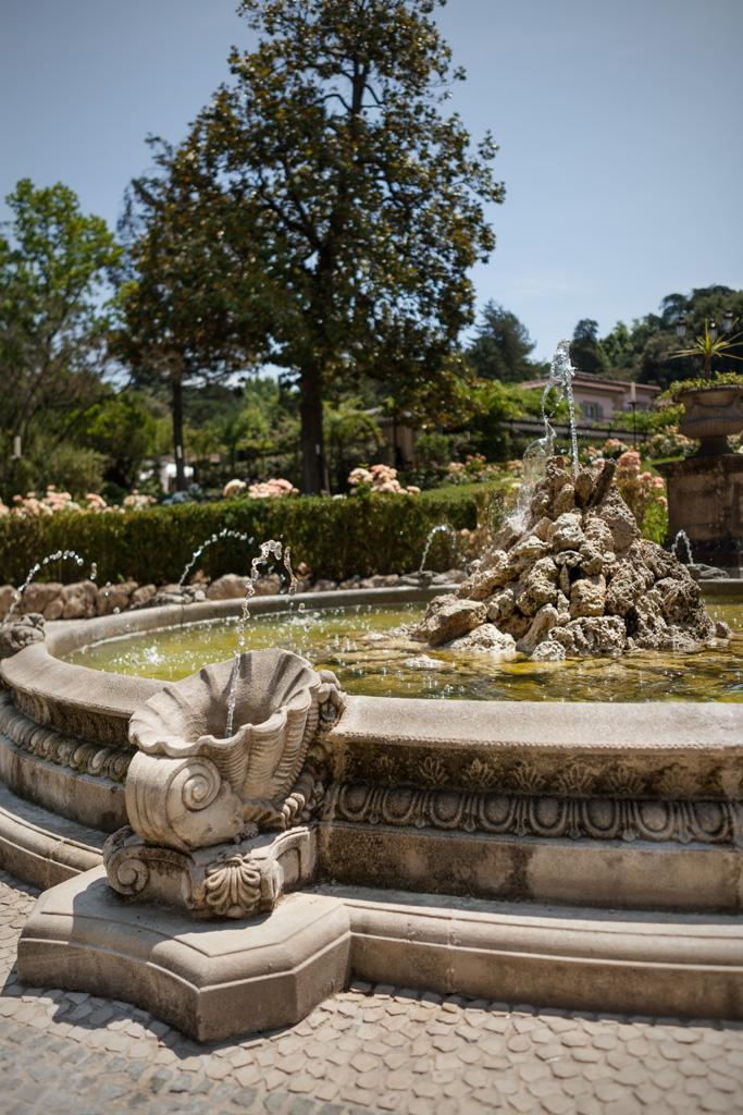 La fontana restaurata