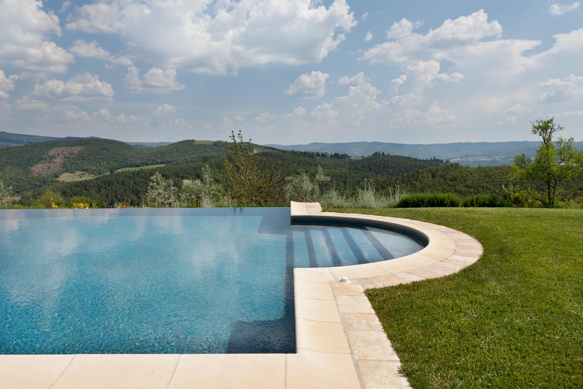 Il paesaggio delle colline del Chianti